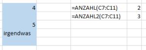 Tipp Excel Anzahl2