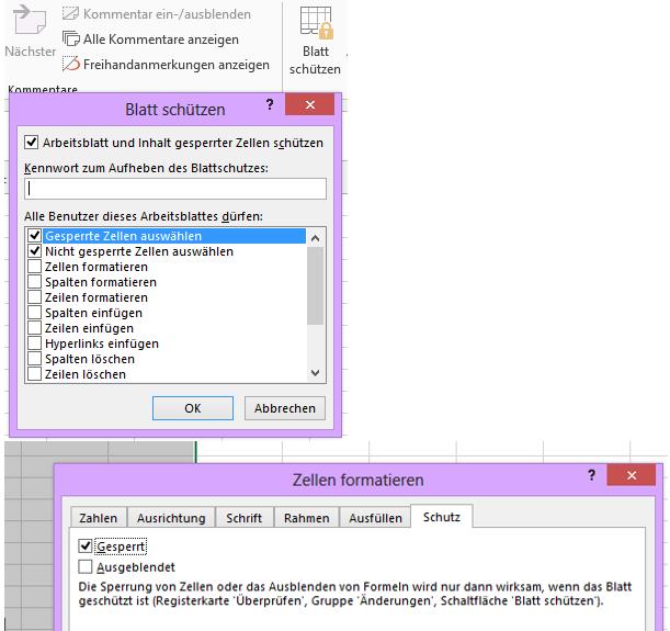 Excel #Schutz | Soprani Software