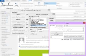 Tipp Outlook bedingte Formatierung