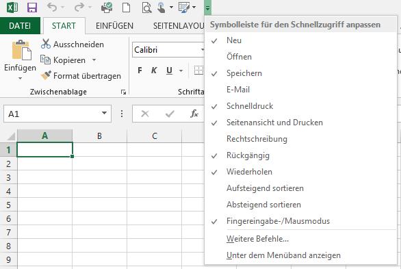 Ich will meine Lieblingsbefehle in #Office2010 oder #Office2013 #schneller finden!