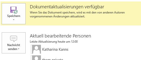 #zeitgleich am selben #Dokument arbeiten - mit #Word2013