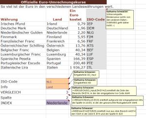 Tipp Excel Index Vergleich