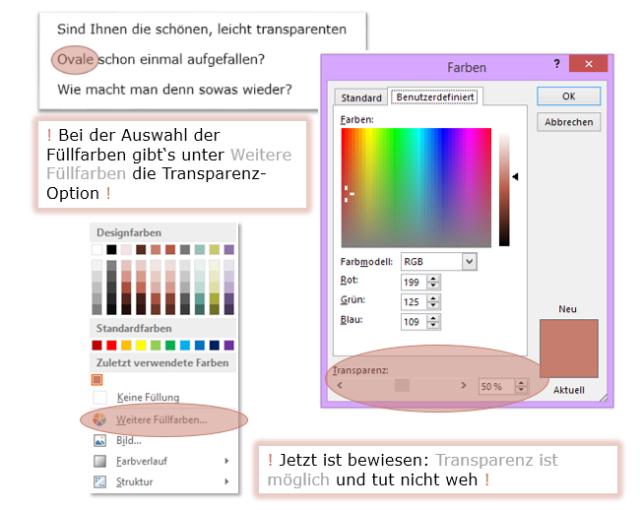 #transparenz ist ganz #einfach
