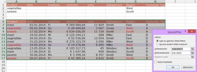 Tipp Excel Filter Erweitert UND ODER