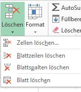 Tipp Excel Löschen