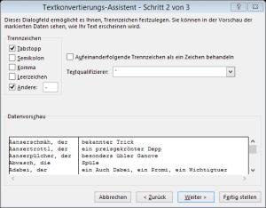 Tipp Excel TextinSpalten2