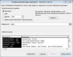Tipp Excel TextinSpalten3
