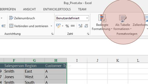 Tipp Excel Tabelle 1