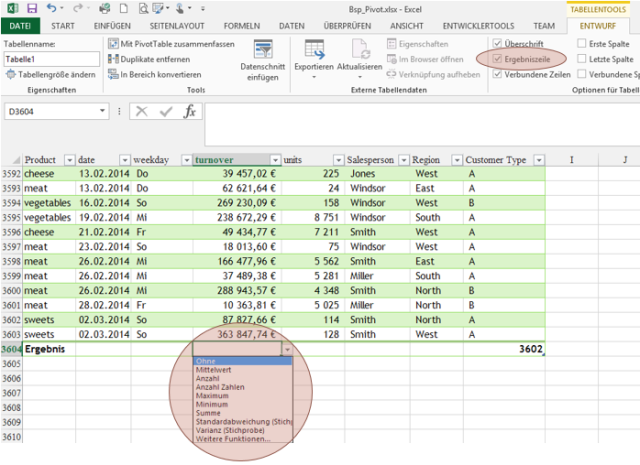 Tipp Excel Tabelle 4