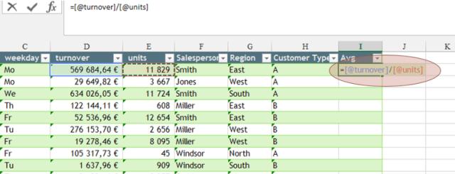 Tipp Excel Tabelle 5