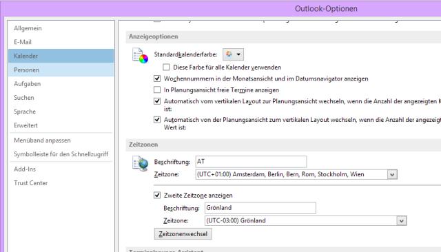 Outlook kennenlernen