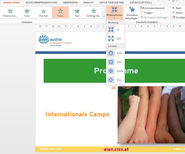Tipp PowerPoint Animation Effektoptionen