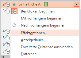 Tipp PowerPoint Animation Effektoptionen2