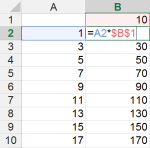 Tipp Excel Zellbezug absolut