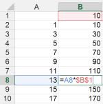Tipp Excel Zellbezug absolut2
