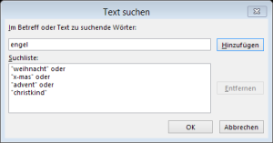 Tipp Outlook Weihnachten Regel3