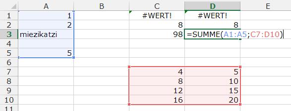 Tipp Excel Summe3