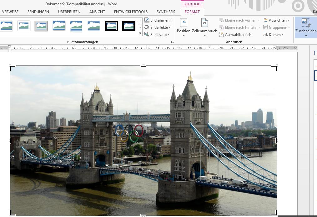 Tipp Office Bild zuschneiden 1