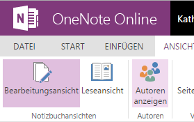 Tipp OneNote Autoren anzeigen