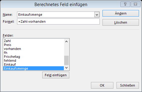 Tipp Excel Berechnetes Feld 2