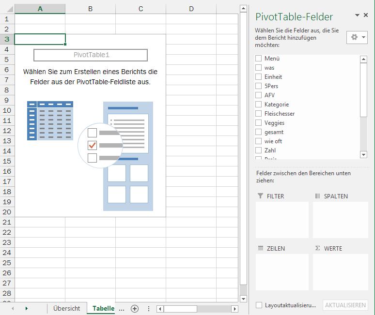 Tipp Excel Pivot
