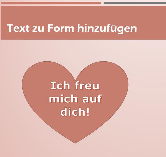 Tipp Text zu Form hinzufügen