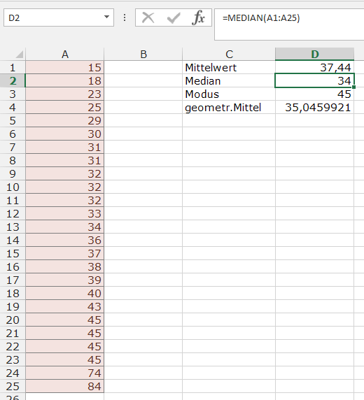 XTipp Statistik Median