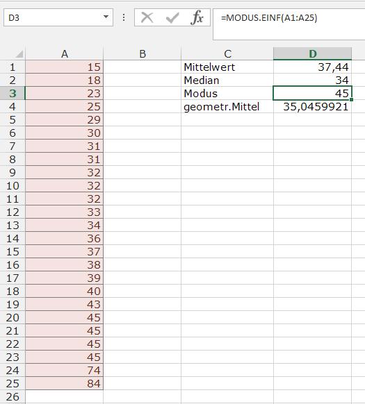XTipp Statistik Modus