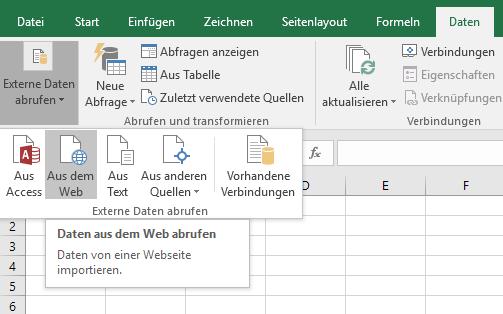 XTipp externe Daten Web 1