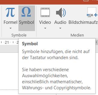 PTipp SymboleSonderzeichen